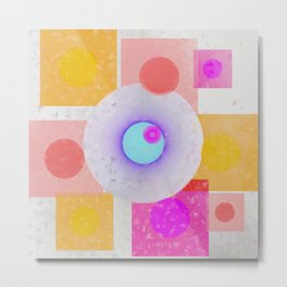 Multicolored abstract no. 67 Metal Print