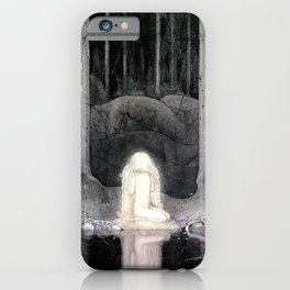 She is Looking For Her Heart By John Bauer iPhone Case