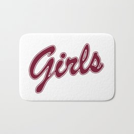 Friends girls shirt Bath Mat