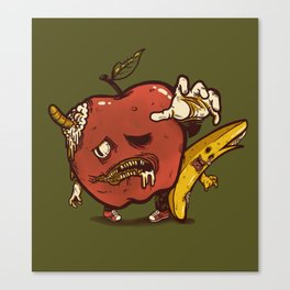 Zombie Pulp Canvas Print