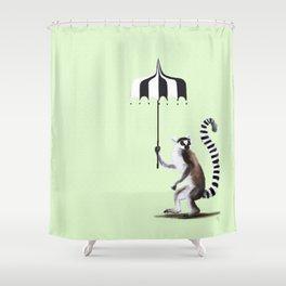 Ring Tailed Lemur Shower Curtain