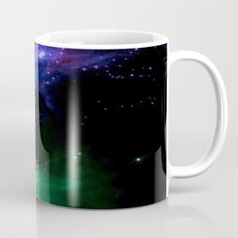 The Cosmos (blue and green) Coffee Mug