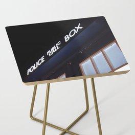 Police call box Side Table