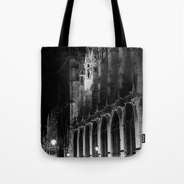 A View of the Northern Edge of Notre Dame Cathedral, Paris, France Tote Bag