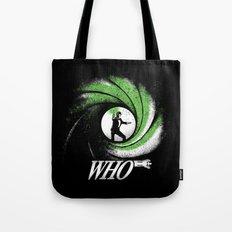 The Name's Who Tote Bag