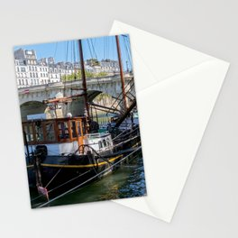 Old barge near the Pont Neuf - Paris Stationery Cards