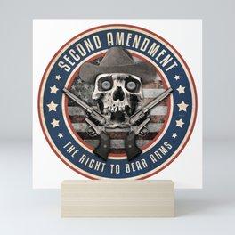 Second Amendment Mini Art Print
