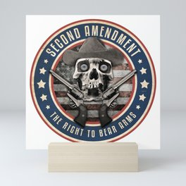 Second Amendment Mini Art Print