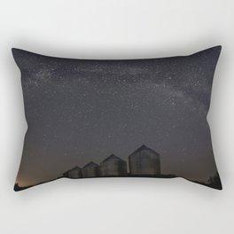 Farmyard Milky Way Rectangular Pillow