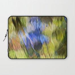 Tropical Mosaic Abstract Art Laptop Sleeve
