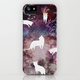 cat heaven iPhone Case