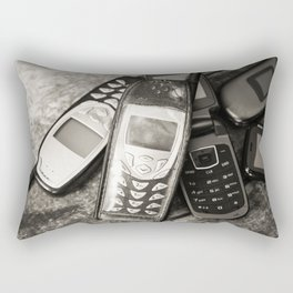 Retro Communication 9 Rectangular Pillow