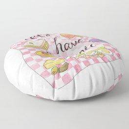 Let's Have A Picnic Floor Pillow