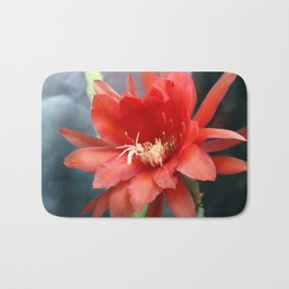 Jungle Cactus Red Bath Mat