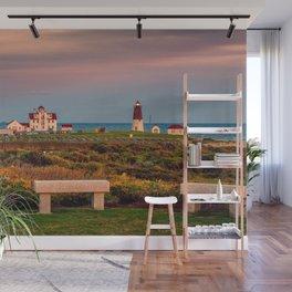 Point Judith Lighthouse, Narragansett, Rhode Island Wall Mural