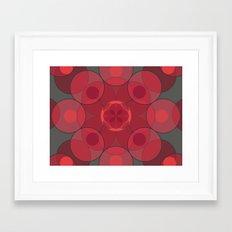 Circle Star 4x8 Framed Art Print