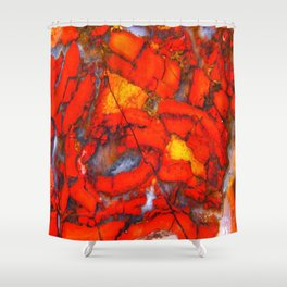 Lavic Jasper  Shower Curtain