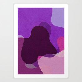 Wavy Berries Art Print