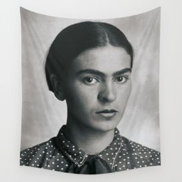 Frida Kahlo Portrait Wall Tapestry