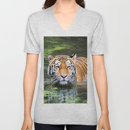 Tiger | Tigre Unisex V-Neck