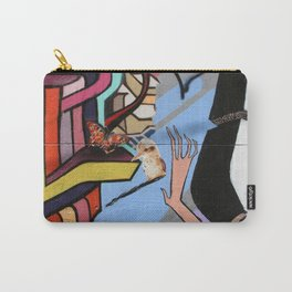 Kookaburra Graffiti Carry-All Pouch