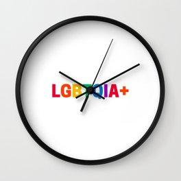LGBTQIA+ Wall Clock