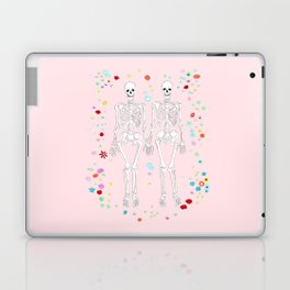 together forever pink background Laptop & iPad Skin
