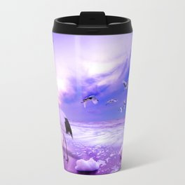 Sea Birds Travel Mug