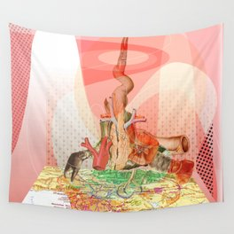 atmosphere · flesh Wall Tapestry