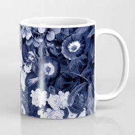 Bohemian Floral Nights in Navy Coffee Mug