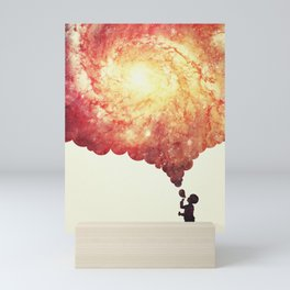 The universe in a soap-bubble! Mini Art Print