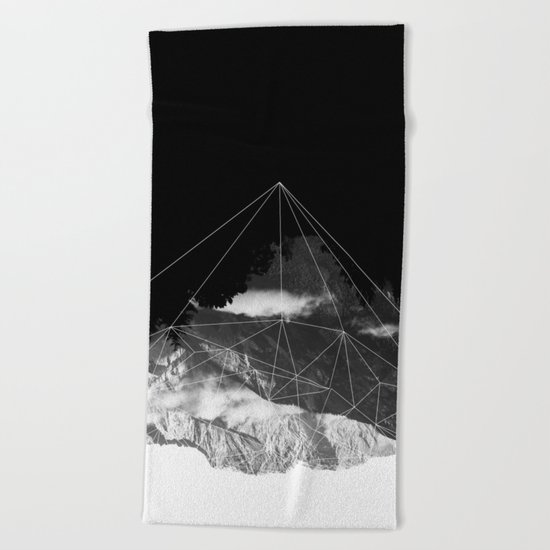 Crystal Mountain Beach Towel