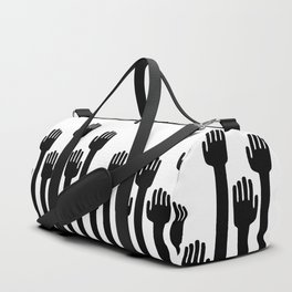 reach toward the light Duffle Bag