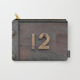 Number Twelve Carry-All Pouch