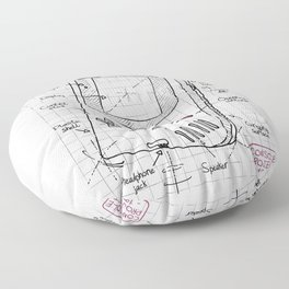 Console project Floor Pillow