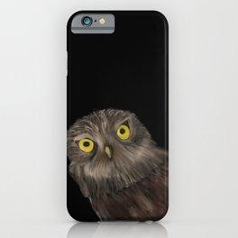 Peeking Owl iPhone Case