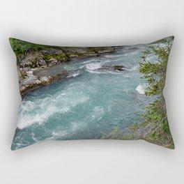 Alaska River Canyon - II Rectangular Pillow