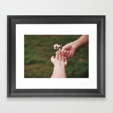 Our spring II Framed Art Print