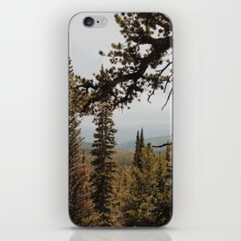 Mountain Pines iPhone Skin