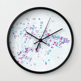 Seasons MMXIV - Winter Wall Clock