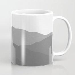 Shades of Grey Mountains Coffee Mug