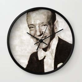 Fred Astaire, Actor, Dancer Wall Clock