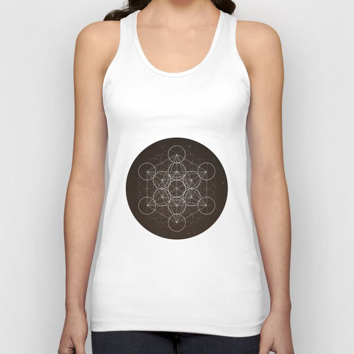 Metatrons Cube Is Out Of Space Unisex Tank Top