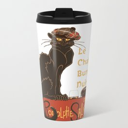 Le Chat  Burns Nuit With Haggis and Dram Travel Mug