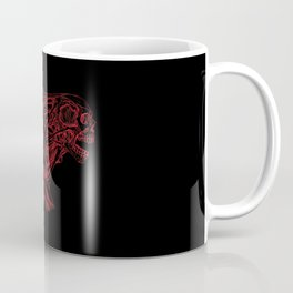Skull creature (red line) Coffee Mug