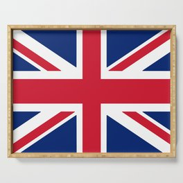 Flag of the United Kingdom Serving Tray