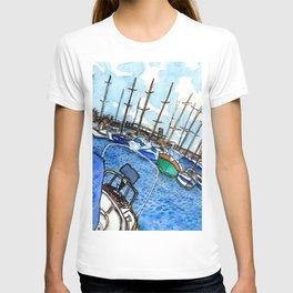 Boats at the Marina T-shirt