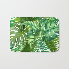 green tropic Bath Mat