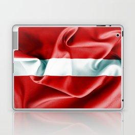 Latvia Flag Laptop & iPad Skin