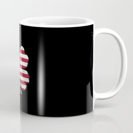 ST. PATRICK'S Day Irish American Flag Ireland USA Paddy's Coffee Mug